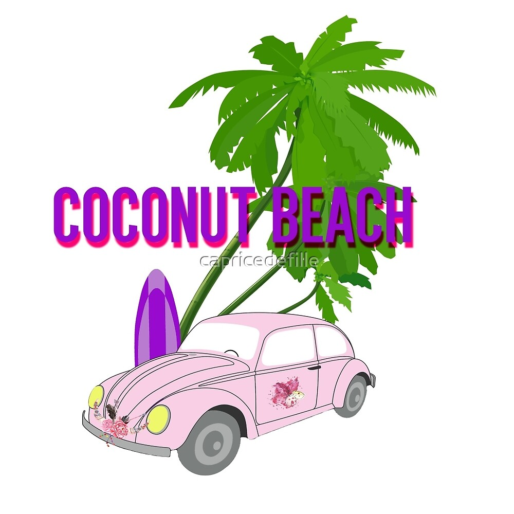 Coconut Beach by capricedefille