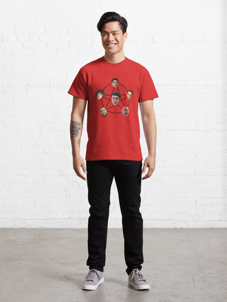 Alternate view of Filthy Frank and Friends Sacrifice Classic T-Shirt