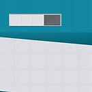 Funky Little Teal Windows by modernistdesign