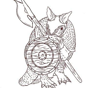Armordillo by Airship-Tinker