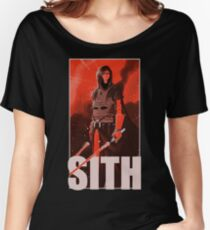 SITH Women's Relaxed Fit T-Shirt
