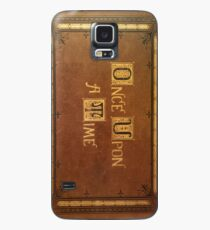 Once Upon A Time - Fitted Book Cover Case/Skin for Samsung Galaxy