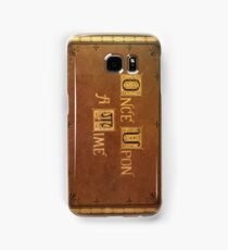 Once Upon A Time - Fitted Book Cover Samsung Galaxy Case/Skin