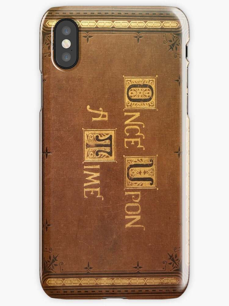 Quot Once Upon A Time Fitted Book Cover Quot Iphone Cases