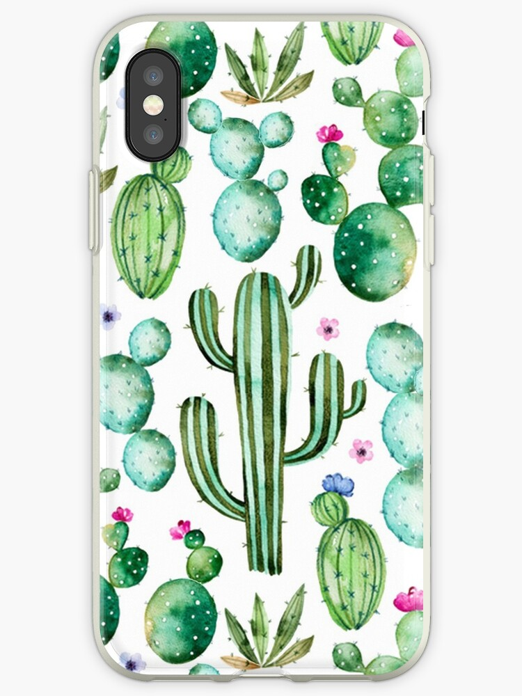 Watercolor cacti by SouthPrints