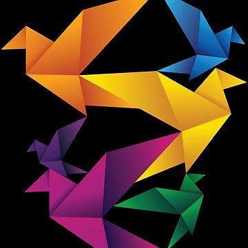 Folded Flight by GravelSkies