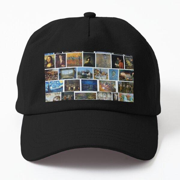 Most Famous Paintings #Most #Famous #Paintings #FamousPaintings VanGogh StarryNight VincentVanGogh Dad Hat