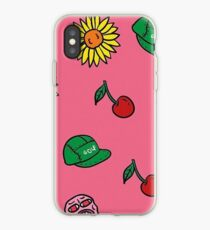 Tyler the Creator Cherry Bomb Art iPhone Case
