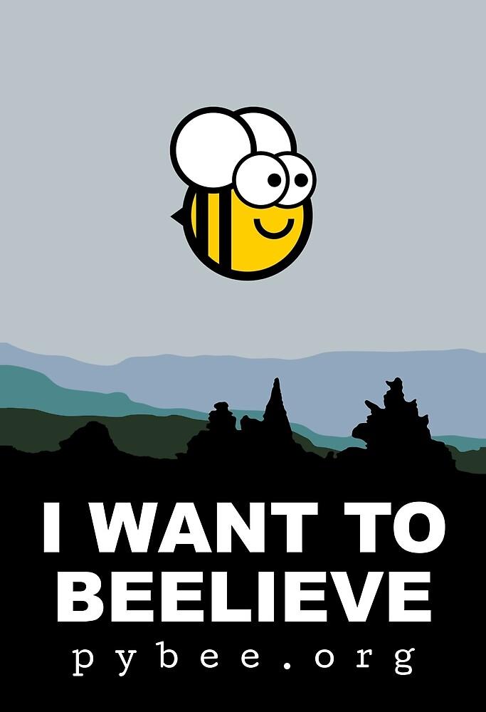 I want to beelieve by pybee
