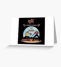 Starfleet Fighter Greeting Card