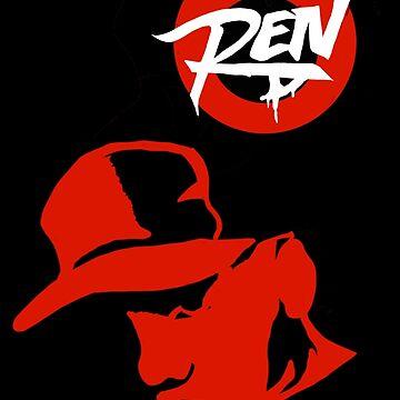 MC Ren  by vinylguy64