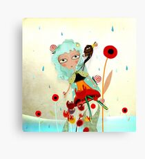 Water has a perfect memory Canvas Print