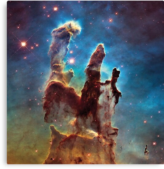 The Pillars of Creation by CosmicStyles