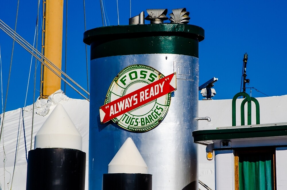 Foss - Always Ready by Patrick Laban