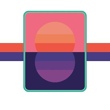 80's Sunset Design by PuppetAssassin