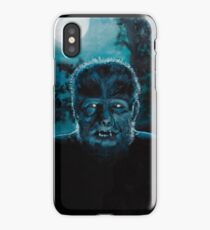 Wolf-Man on the Hunt iPhone Case/Skin