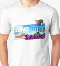 alive 生きているVAPOR Unisex T-Shirt