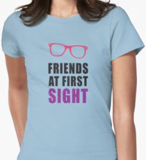 Friends At First Sight 2/2 Womens Fitted T-Shirt