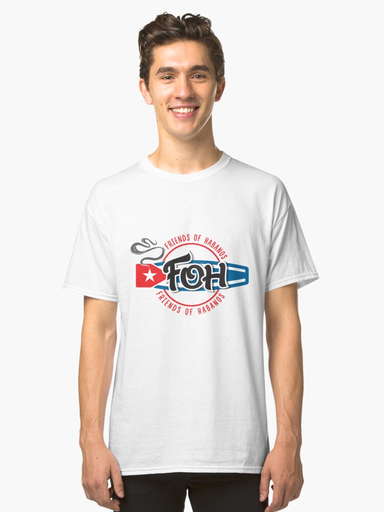 Large Cuban FOH 1 Classic T-Shirt Front