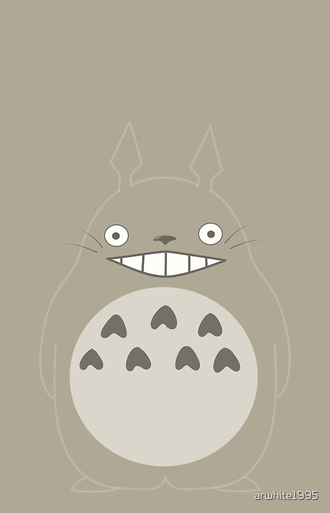 Totoro- My Neighbor Totoro by arwhite1995