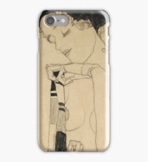 Egon Schiele - Standing Girl  iPhone Case/Skin