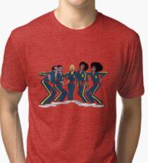 Harlem Globetrotters - Group Tri-blend T-Shirt