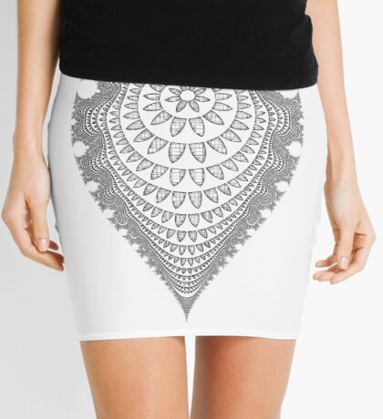 Mandala I Mini Skirt