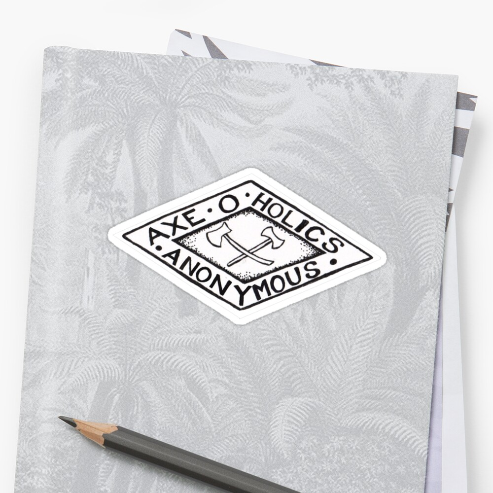 Axe-O-Holics Anonymous Stamped Logo by Stxradley