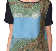 Somewhere Only We Know Chiffon Top