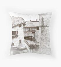 monochromeArt / 58 Throw Pillow