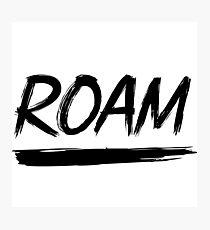 Roam Photographic Print