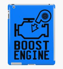 Boost Engine iPad Case/Skin