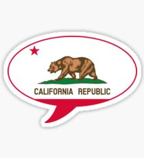 California State Flag Graphic USA Styling Sticker