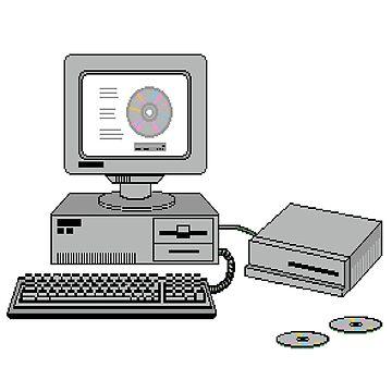 Retro Computer by skeltal