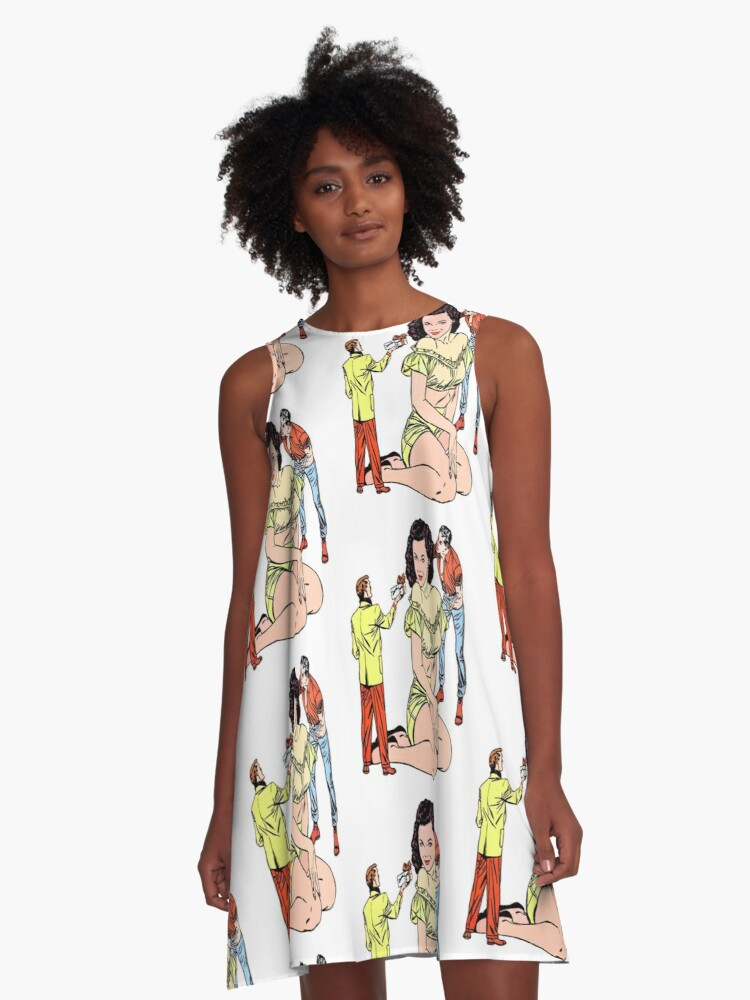 Gifts & Curses  A-Line Dress Front