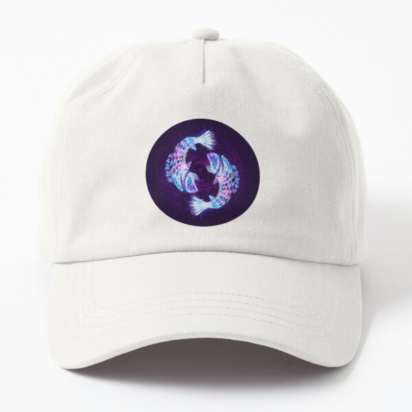 Pisces Zodiac Lightburst Dad Hat