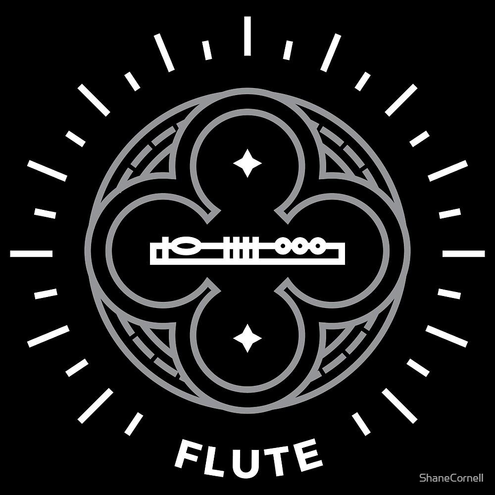 Flute - White & Gray by ShaneCornell