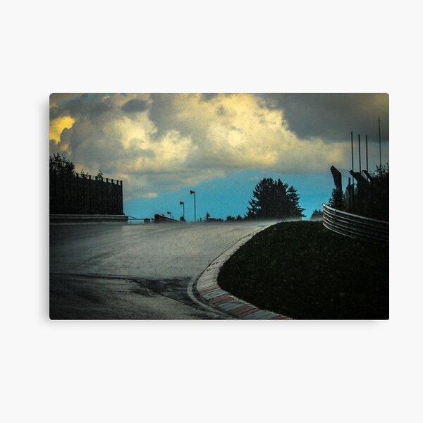 Wet Nordschleife Canvas Print