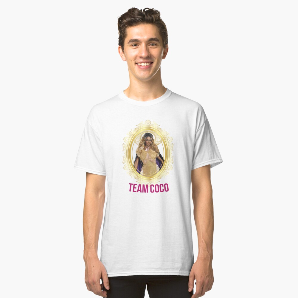 Rupaul's Drag Race All Stars 2 Team Coco Montrese Classic T-Shirt Front