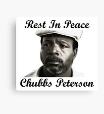 Rest In Peace Chubbs Peterson Happy Gilmore Canvas Print