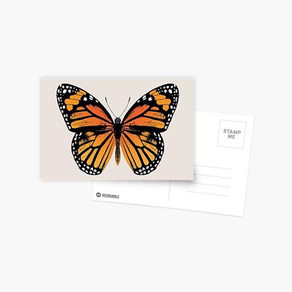 Monarch Butterfly | Vintage Butterflies |  Postcard