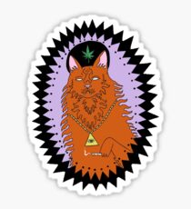 Wavves King Of The Beach Sticker