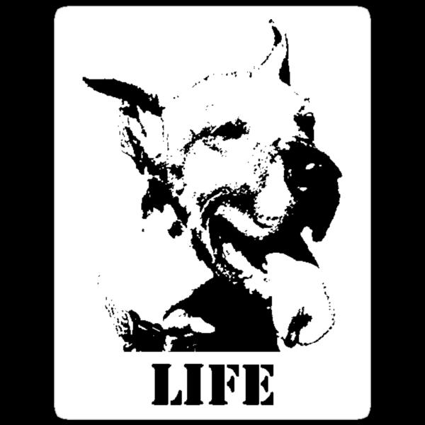 NO-KILL UNITED : ES LIFE (STICKER) by Anthony Trott