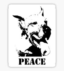 NO-KILL UNITED : ES PEACE (STICKER) Sticker