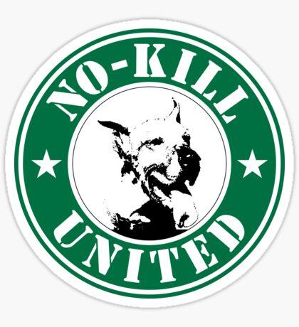 NO-KILL UNITED : LOGO Sticker