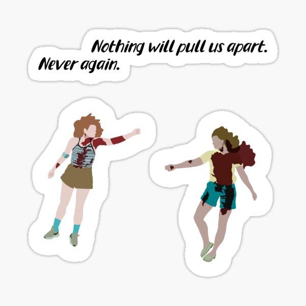 Ziggy and Cindy pack Sticker