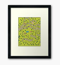 Earthbound: Saturn Valley Framed Print