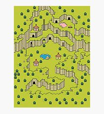 Earthbound: Saturn Valley Photographic Print