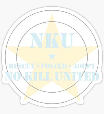 NO-KILL UNITED : RFA-BYG Sticker