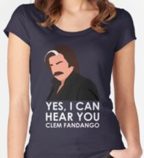 Yes, I can hear you Clem Fandango. Women's Fitted Scoop T-Shirt